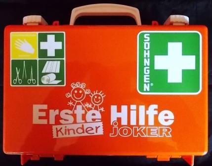 Erste Hilfe Koffer für KINDER