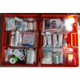 Erste Hilfe Koffer Größe 3 orange Typ 1 mit Chemieset