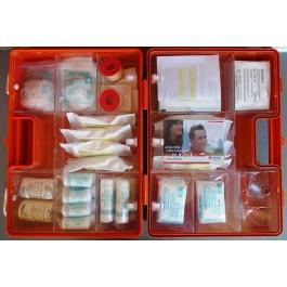 Erste-Hilfe-Koffer Größe 3 orange Typ 2 - lange Haltbarkeit der Sterilteile