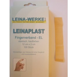 Fingerpflaster, 12 x 2 cm, elastisch, 100 Stück