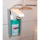 Wandspender für Händedesinfektion und Flüssigseife, für 500 ml Flaschen