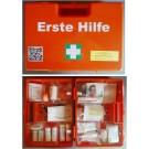 Erste Hilfe Koffer Größe 2 orange Typ 1