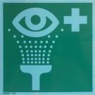 Hinweisschild Augenspüleinrichtung