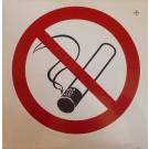 Verbotszeichen: Rauchen verboten, Folie