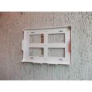 Wandhalter Größe 1 weiß